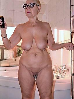 Granny tits saggy Big Saggy